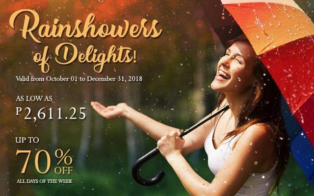 rainshowers of delights